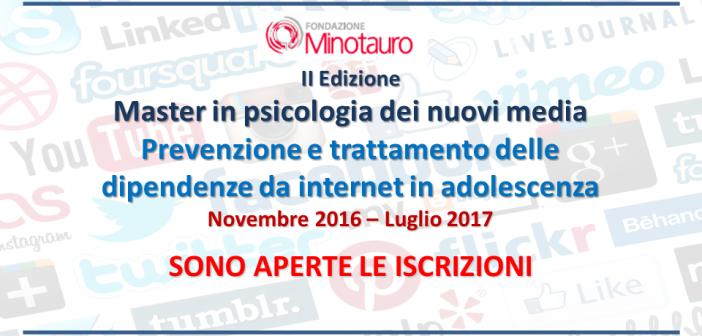 II Edizione del Master in psicologia dei nuovi media – ISCRIZIONI APERTE