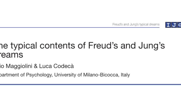 I contenuti tipici dei sogni in Freud e Jung
