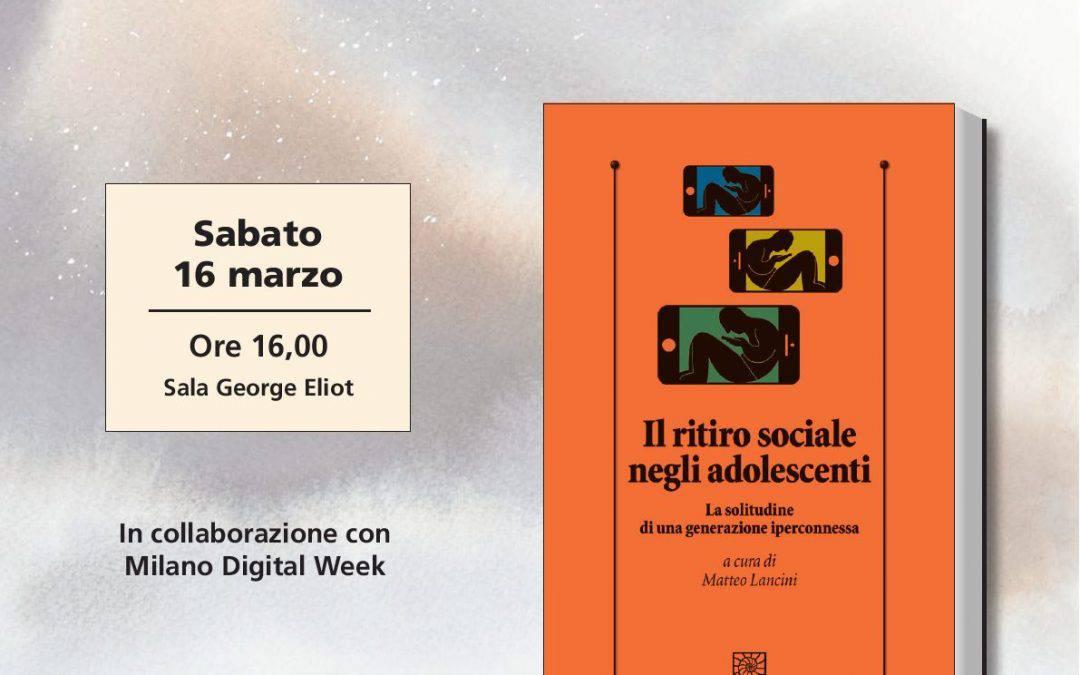 Book Pride 2019 – Il ritiro sociale negli adolescenti
