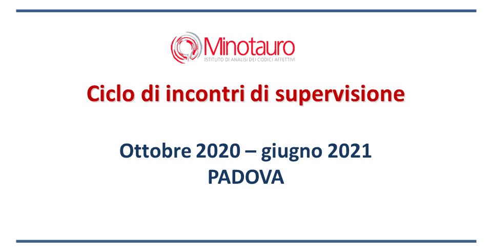 Incontri di supervisione 2020-2021 – Padova