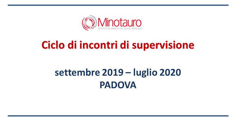 Incontri di supervisione 2019-2020 – Padova