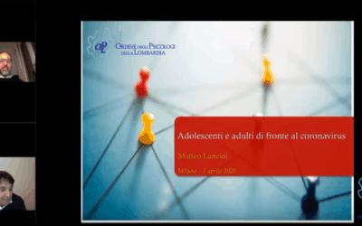 Adolescenti e adulti di fronte al Coronavirus – Webinar OPL